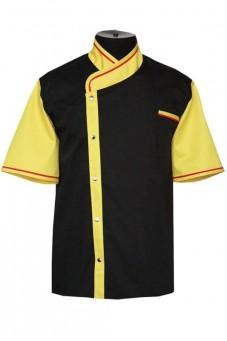 Китель черно-желтый