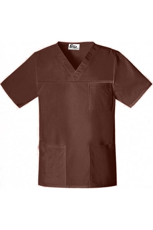 Куртка  поварская коричневая К3
