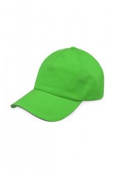 Бейсболка светло-зеленая